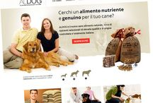 Portfolio - AlDog / Our work for AlDog http://www.al-dog.it/
