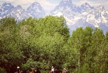 Wyoming Guest Ranch / Gros Ventre River Ranch is located in Jackson Hole, Wyoming, close to Yellowstone and Grand Teton National Parks