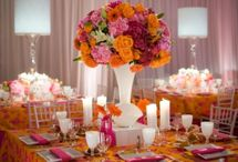 Girly Bat Mitzvah flower ideas / Juicy couture style, fashion,