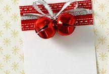 etiquetas de presente de Natal