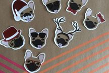 Our products / Here you will find amazing one of a kind #French #Bulldog #designs and great quality #products.