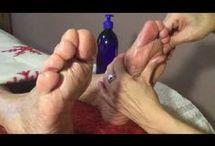 reflexologia y masajes