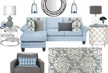 collage living room