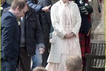 Nicole making movie in Scotland Railway Man