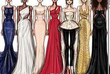 Fashion Illustration / Fashion Art