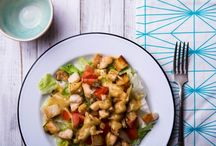Egyszerű ételek, saláták