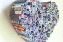papierrolletjes van tijdschriften