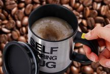 Coffee and Tea Lovers Unite / coffee mugs, tea cups, coffee lovers, i love tea, drinking coffee, drinking tea