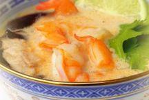 soupe Thaï coco crevettes