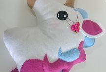 unicorn felt