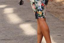Virágos szoknyák