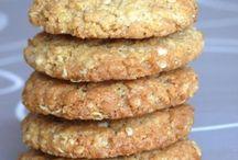 cookies  o flocons  d avoines  noix  coco