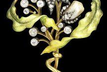 art Nouveau / art deco jewelry