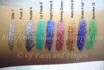 Make up swatches