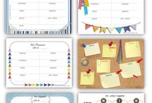 Planners and organisation ideas