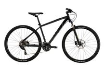 2015 Dual Sport / Dual sport bikes are designed to be efficient both on and off road. They can include either a rigid or more often, a suspension fork and upright riser bars like a mountain bike but have larger 700c road wheels and semi knobby tires great for both on and off-road use. These bikes would make great commuters