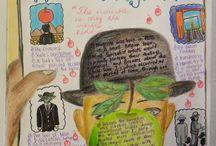Art Ed - Sketchbooks / by Ms. Ladypants
