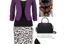 purple cardigan ideas / by Lee Anne Bourque