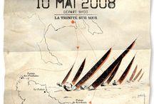 Les affiches du Tour de Belle-Ile