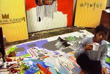 Jean Michel Basquiat Art