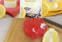 DIY KITCHEN CLEANERS