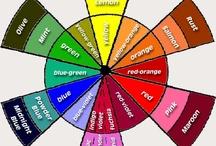 как сочетать цвета - схема