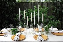 For the Table / Anything to decorate your beautiful table. table settings ideas