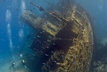 Wraki statków / Shipwreck (History in bottom of sea..)