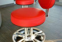 krzesło auto serwis