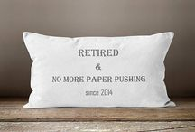 Retirement Gifts / Great retirement gifts for men and women.  Perfect for office retirement parties.