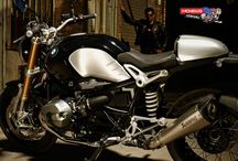 """BMW R nineT / The BMW R nineT, has been created to mark """"90 years of BMW Motorrad"""". It blends the boxer engine's rugged character. Strictly reduced to the essentials, the BMW R nineT – or just nineT for short – is made all the more alluring by its hand-built feel and strong emotional appeal. - http://www.mcnews.com.au/2014_Bikes/BMW/R_nineT/BMW_R_nineT.htm"""