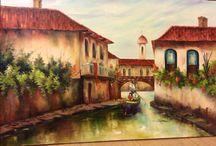 Meus quadros / telas a óleo
