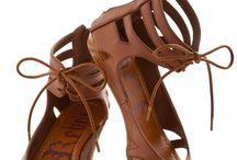 Vegan Lace-Up Sandals (Boho)