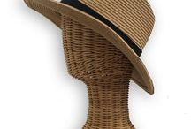 Men's Summer Hats / Men's summer hats in a variety of styles: fedora, wide brim, floppy, straw. UPF 50 protection for outdoor activities/ spending days in the sun.