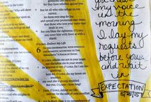 Bible Journaling / by Lindsey Sanders