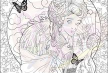 Adult Coloring Pages and Books