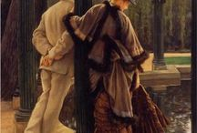 Paintings I Love..... / Paintings of couples and of children..... Love the innocence of them.