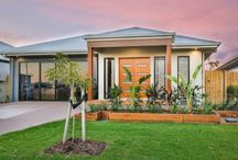 Front Facades of Homes / Breezway Louvre Windows can be incorporated into the front facade of the home to add style and functionality.