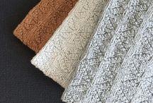 Håndklæder strikket