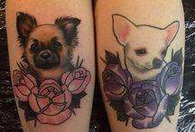 Dog tattoos / Chi ama gli animali lo sa: un gatto o un cane diventano parte integrante della famiglia! Ecco quindi una gallery dei tatuaggi dedicati ai nostri amici a 4 zampe, in questo caso, ai cani :)