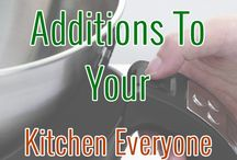 Kitchen Stuff / All about the kitchen - tips and appliances!