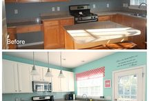 Home makeovers / Love these done with low budget