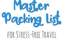 Seyahat çantası listeleri