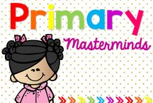 Primary Masterminds / A collaborative collection of useful and creative ideas for the primary classroom