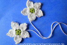 Crochet flowers / by Simply Done Crochet