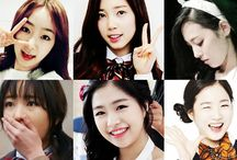 """April / April (Hangul: 에이프릴, stylized as APRIL) is a six-member K-pop girl group formed by DSP Media. The group's name means """"girl you can't help but love"""" because """"A"""" represents the best and """"Pril"""" means a lovable girl. They will debut on August 24, 2015, with the mini-album Dreaming and the title track """"Dream Candy."""" The members are Somin, Jinsol, Naeun, Chaewon, Hyunjoo and Yena."""