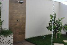 chuveiro de piscina