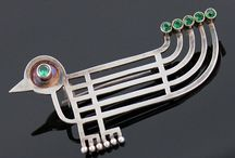 Modernist and sculptural jewellery
