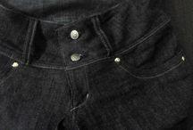 Curso Básico Para a Costureira Iniciante-Modelo I- Calças / Arquivos e imagens do curso para a costura de calças jeans.