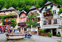Autriche, lacs et montagnes du Salzkammergut